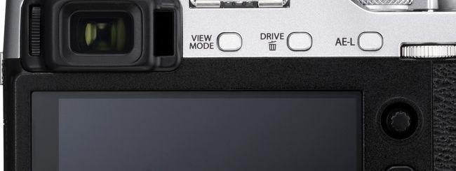 Fujifilm X-E3: mirino elettronico e display touch