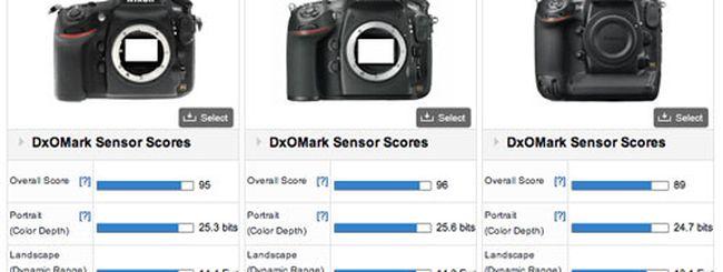 Nikon D800E nuova regina del DxOMark