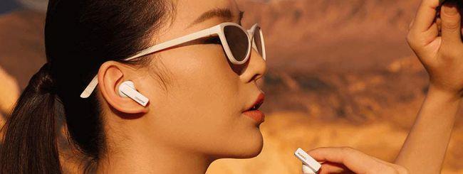 Huawei FreeBuds Pro ti regalano Huawei Band 4 Pro
