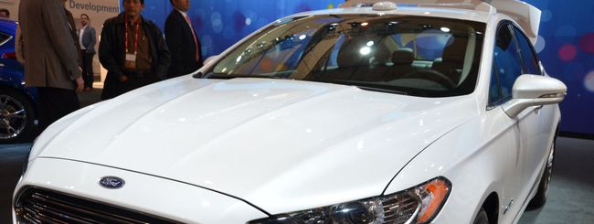MWC 2014: Ford Focus Hybrid automated car