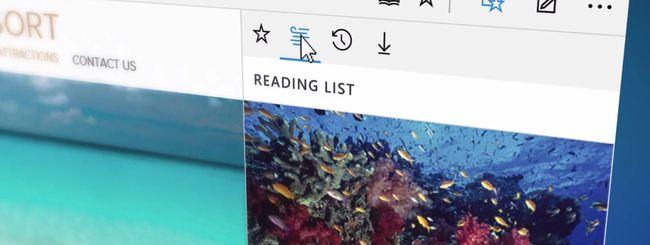Microsoft Edge, il nuovo browser di Windows 10
