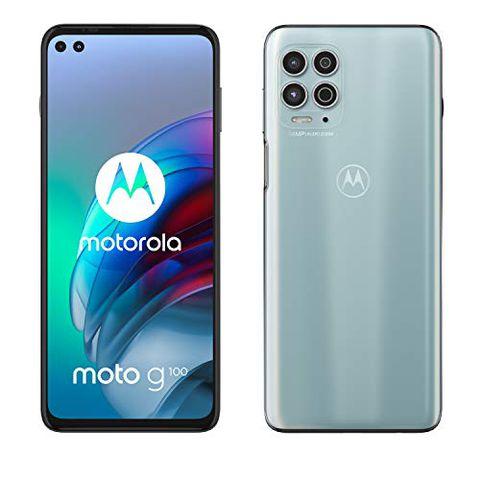 Motorola moto g100 (Iridiscent White)