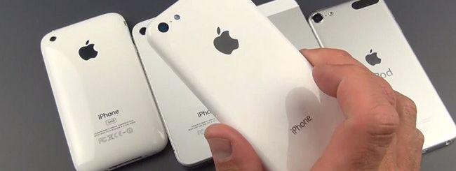 iPhone low cost: design in dettaglio in video