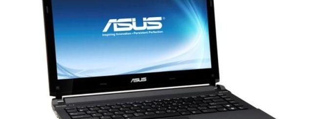 ASUS U36SD, prestazioni elevate in 19 mm di spessore