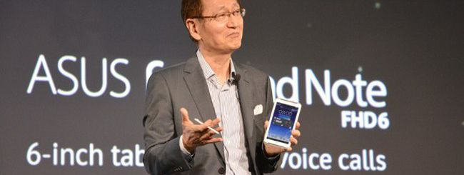 Computex: Asus sfida Samsung con il FonePad Note