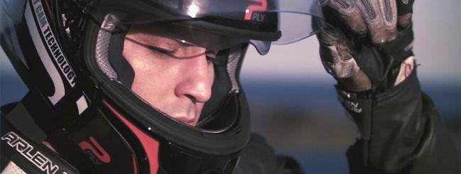 PLY, il casco smart per motociclisti