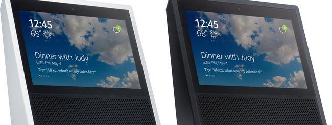 Schermo touch per il nuovo Amazon Echo (update)