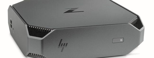 HP Z2 Mini, piccola workstation per progettisti CAD
