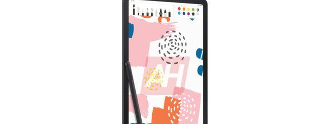 Samsung Galaxy Tab S6 Lite, prima immagine