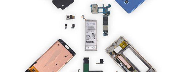 Galaxy Note 7 Fan Edition, ecco la nuova batteria