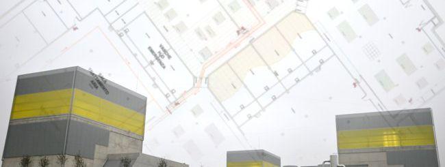 ENI Green Data Center: mappa del datacenter