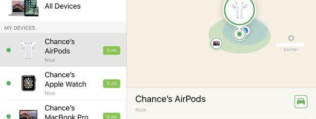 Trova AirPods, come rintracciare gli auricolari wireless Apple con iOS 10.3