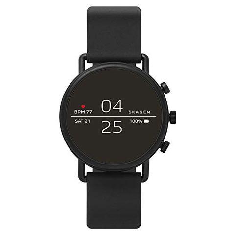 Skagen Smartwatch Uomo con Cinturino in Silicone SKT5100