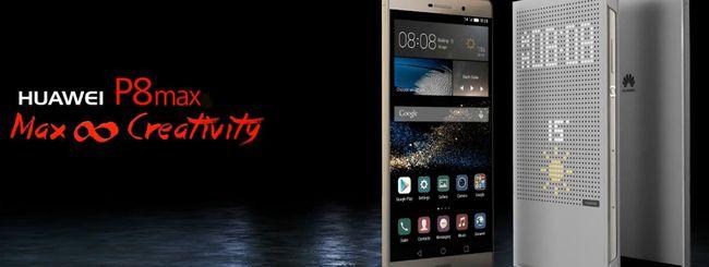Huawei annuncia P8 Max e P8 Lite