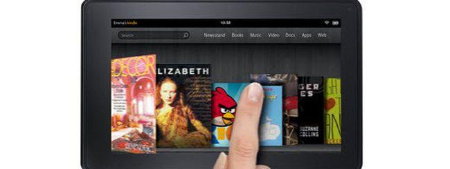 Amazon Kindle Fire: confronto con iPad e Playbook