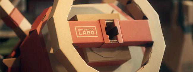 Switch: il nuovo Kit Veicoli di Nintendo Labo