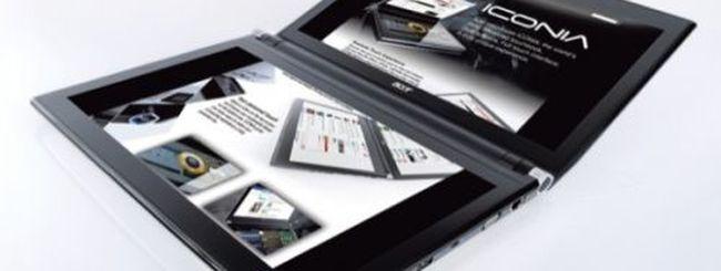 Acer Iconia Touchbook: notebook con doppio display da 14 pollici
