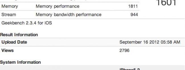 iPhone 5 due volte più veloce del nuovo iPad