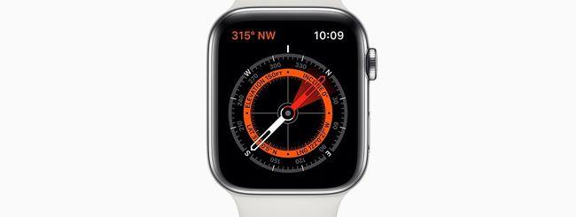 Apple Watch 5: cinturini influiscono sulla bussola