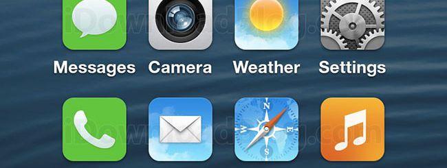 iOS 7: una foto sospetta appare online