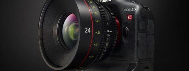 Canon EOS-1D C, primo video a 4K