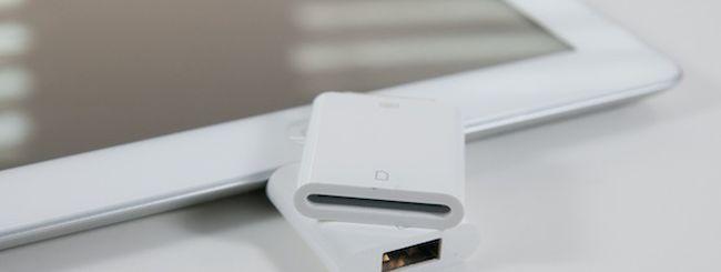 L'iPad può importare dati anche da un Floppy Disk
