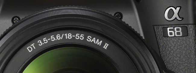 Sony Alpha A68: specchio traslucido e 4D Focus