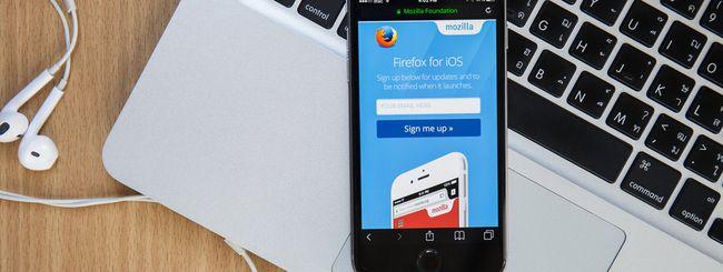 Mozilla aggiorna Firefox per iOS
