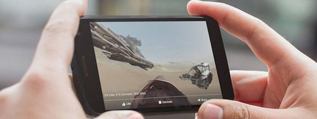 Facebook, arrivano i video a 360 gradi su iOS