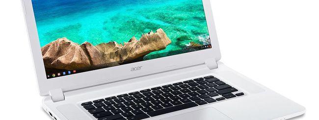 CES 2015: Acer svela un Chromebook da 15 pollici