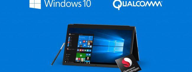 Windows 10 su ARM grazie a Qualcomm
