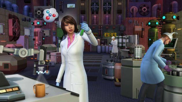 The Sims 4 Al Lavoro