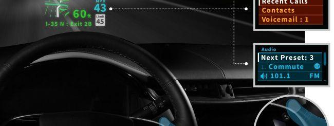 CES 2104: Garmin integra un HUD nel parabrezza