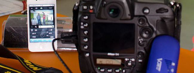 Nikon D4, controllo WiFi economico e utilizzo app iPhone