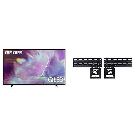 """Samsung TV Q65A Smart TV 65"""", QLED 4K, Wi-Fi, Titan Gray, 2021"""