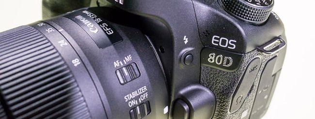 Canon EOS 80D provata in anteprima