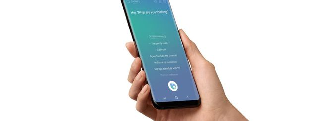 Samsung Galaxy S8, Bixby parla inglese