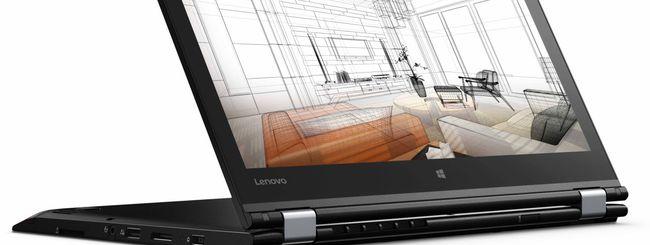 Arrivano in Italia i nuovi notebook Lenovo