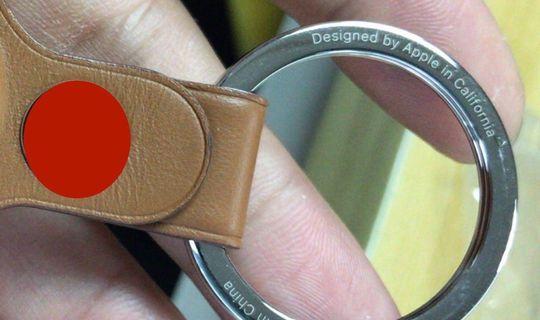 AirTag, spunta l'anello metallico del portachiavi Apple