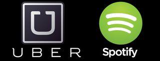 Uber, Spotify