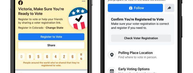 Nascondere pubblicità politiche su Facebook