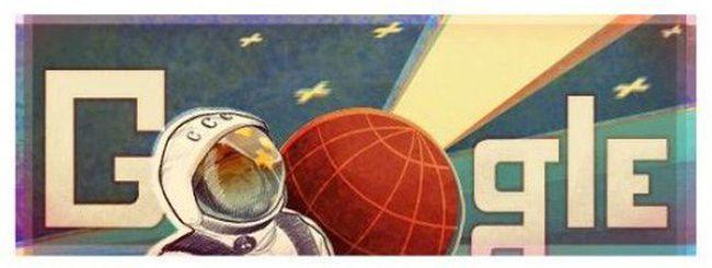 Google celebra Yuri Gagarin e il primo volo nello spazio