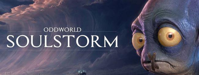 Oddworld: Soulstorm, il buffo Abe sbarca su PlayStation 5