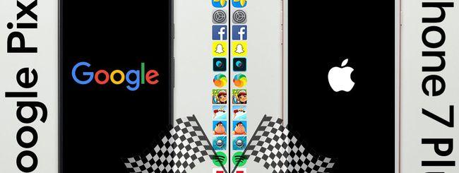 iPhone 7 Plus, più veloce anche del Google Pixel XL