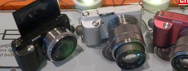 Sony A37 e Sony NEX-F3 a breve: specifiche e immagini