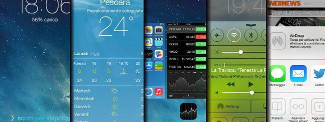 iOS 7: guida visuale alle novità