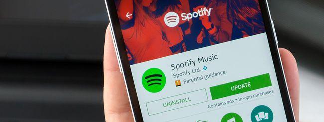 Canzoni sponsorizzate in streaming su Spotify?