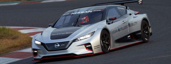 Nissan LEAF NISMO RC, l'elettrica da corsa