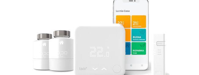 tado°: fino al 40% di sconto su termostati e valvole smart