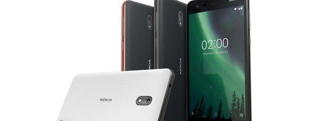 Nokia 2, autonomia elevata e Android Oreo